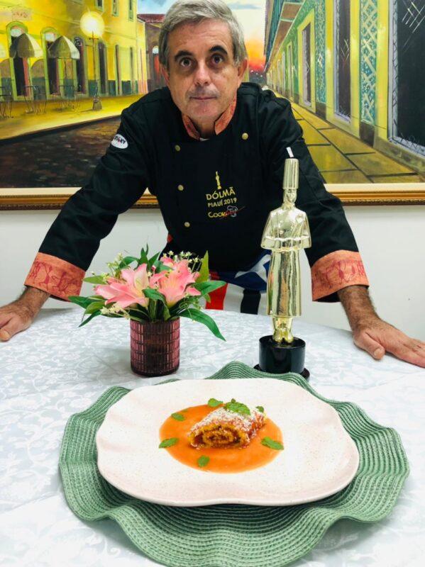 O vencedor do Dólmã, prêmio máximo da gastronomia brasileira. Chef Gopa - Foto: Divulgação