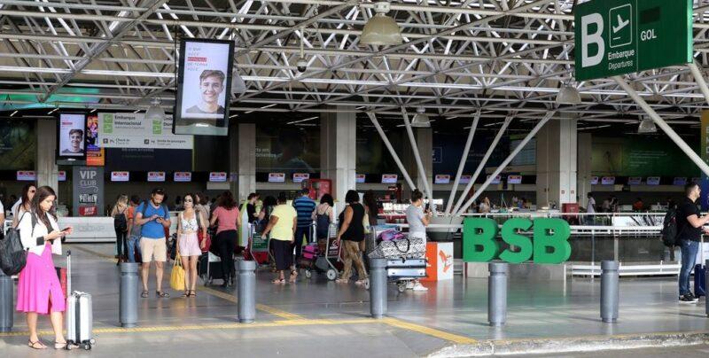 Hub do aeroporto Juscelino Kubitschek, em Brasília garante a oferta de 42% de assentos - Foto: Divulgação