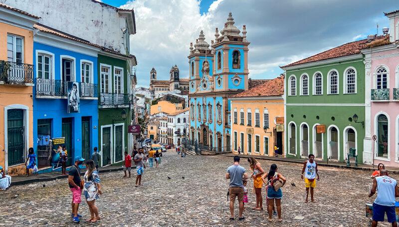 Salvador, uma das cidades da região Nordeste mais procurada nas férias - Foto: Divulgação
