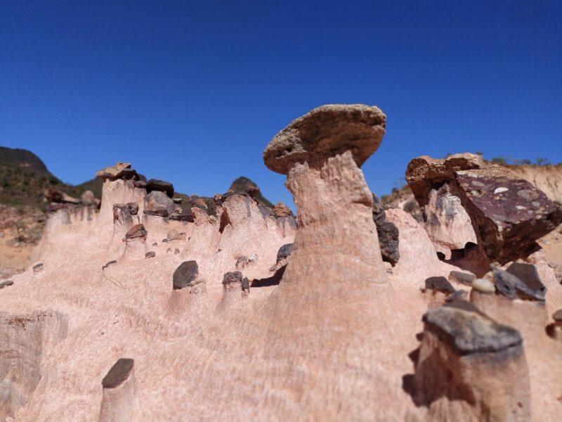 Cidade dos Totens revela paisagem de dunas em Aurora – Foto: Divulgação