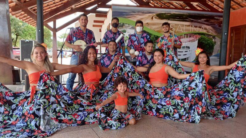 O Grupo Raízes Coremar mostrou toda beleza da dança e do ritmo contagiante do Carimbó paraense - Foto: Gutemberg Bogéa