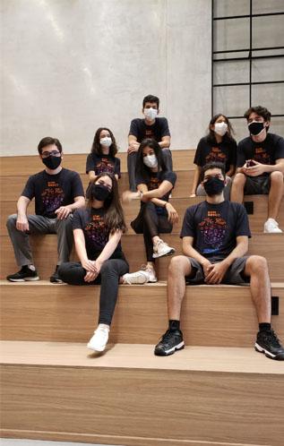 Alunos do Terceiro Ano do Dom Bosco - Foto: Divulgação