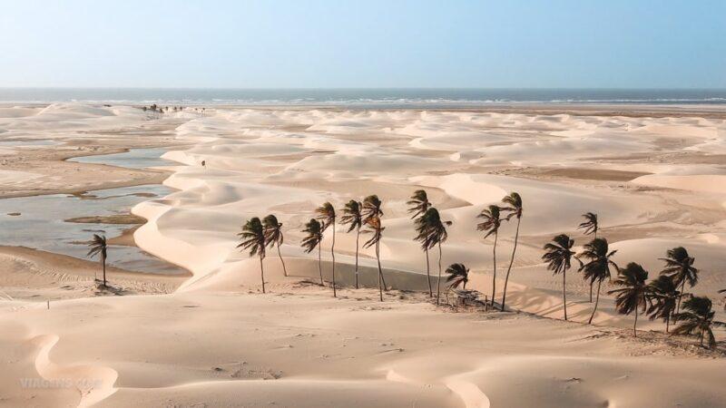 Tutóia, um destino encravado entre os dois parques nacionais, o Lençóis Maranhenses e o Delta do Parnaíba - Foto: Reprodução