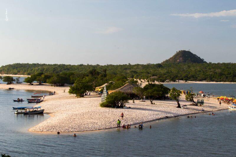 Ponta de Pedras, na Ilha do Marajó, no Pará – Foto: João Ramid