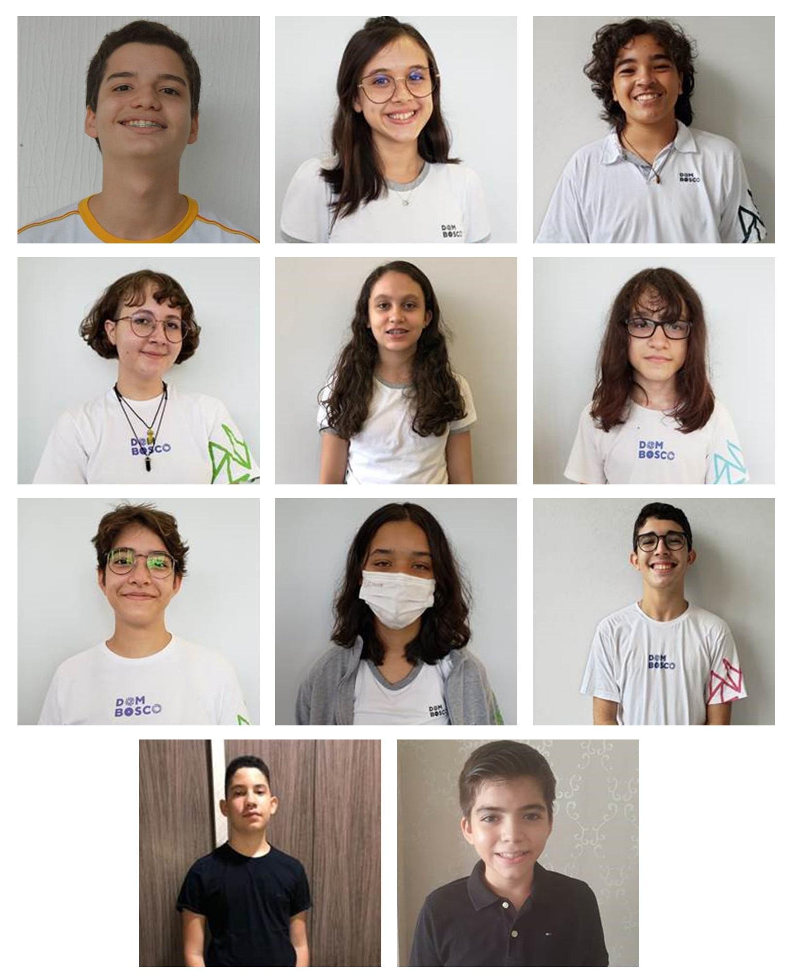 Alunos do Colégio Dom Bosco são destaques  nas olimpíadas – Foto: Divulgação