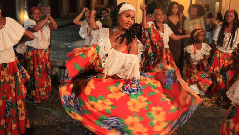 Tambor de Crioula - reconhecido, em 2007, Patrimônio Cultural Imaterial Brasileiro - Foto: Reprodução