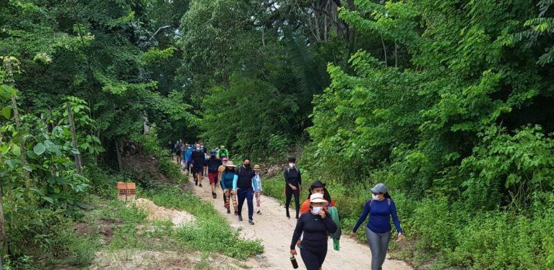 Trilheiros na Reserva Ambiental  do Itapiracô - Foto: Yndara Vasques