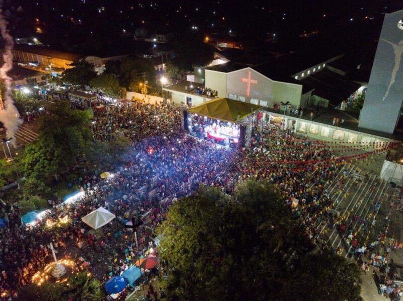 Missa de encerramento do festejo de São Raimundo Nonato dos Mulundus – Foto: Divulgação