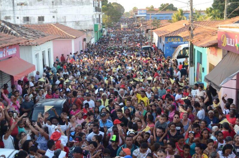 Procissão de encerramento reúne milhares de fiéis – Foto: Divulgação