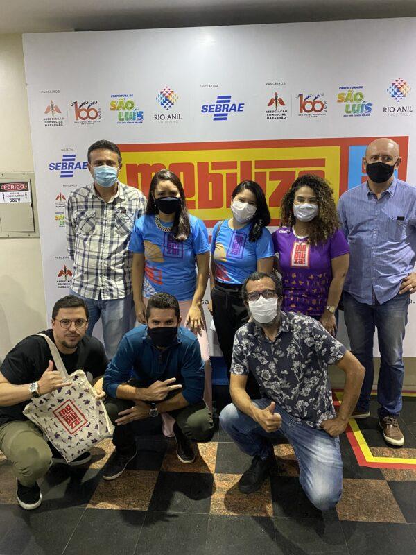 Organização do Mobiliza SLZ comemora sucesso de adesões aos movimento que vai conectar cultura, turismo e economia criativa de 04 a 12 de setembro, em São Luís – Foto: Divulgação