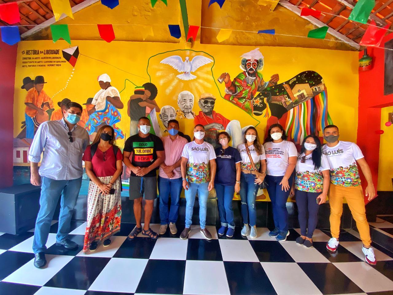 Em Visita técnica a negócios criativos de São Luís, Sebrae prospecta produtos com potencial para serem incorporados a roteiros turísticos na capital ¬ – Foto: Divulgação