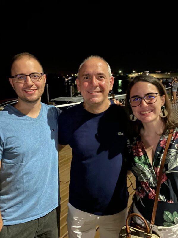 O lojista e Pres. da CDL São Luís Fábio Ribeiro com os filhos Túlio Ribeiro e a médica Thamires Ribeiro – Foto: Divulgação