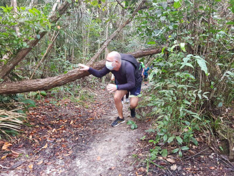 Os desafios da descoberta de Rodrigo Costa, no trilhar do Itapiracô, uma reserva dentro da cidade de São Luís - Foto: Yndara Vasques
