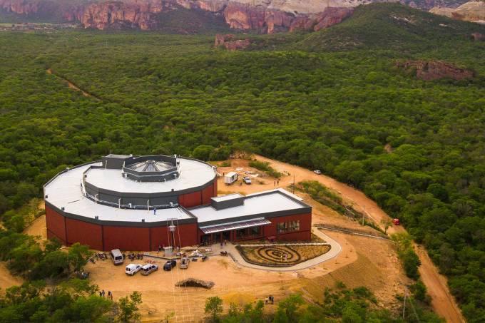 Museu da Naturexa na serra da capivara - Foto Ingrid Gomes