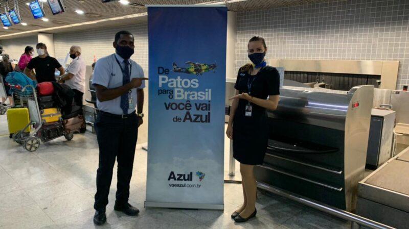 Novo voo Patos - Recife da Azul Linhas aéreas inaugurado - Foto: Divulgação