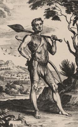 Representações iconográficas dos Tupinambá do Maranhão do Século XVII. Biblioteca Nacional de Lisboa - Foto: Reprodução