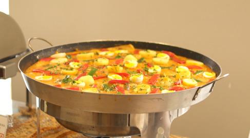 A saborosa peixada maranhense - Foto: Ascom/Senac