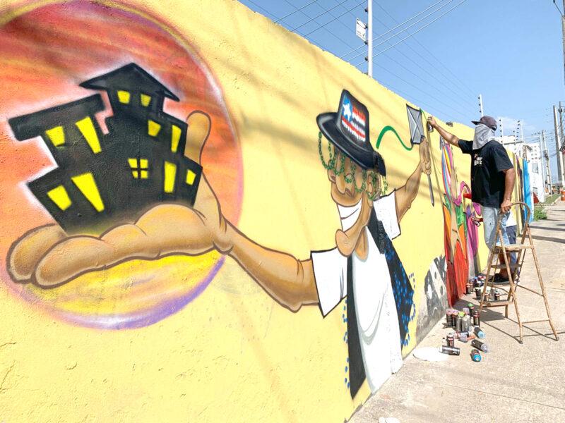 Arte de rua enriquece culturalmente os muros das subestações da empresa Equatorial – Foto: Divulgação