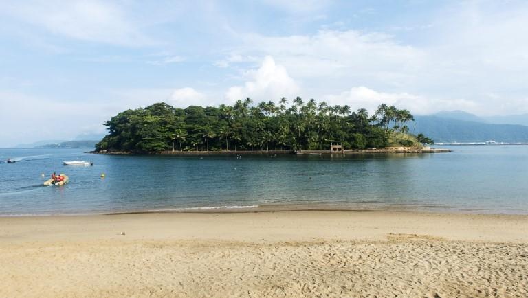 Ilha das Cabras, em Ilhabela (SP) – Foto: Maristela Colucci/MTur Destinos