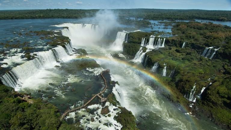 Cataratas do Iguaçu, em Foz do Iguaçu – Foto: Zig Koch/MTur Destinos