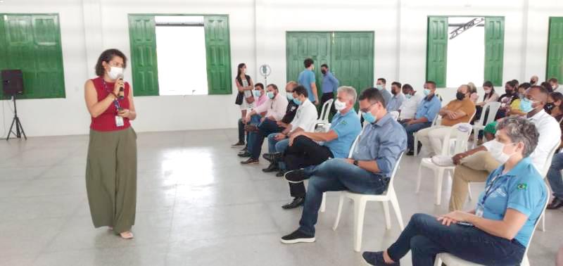 Flávia Nadler, coordenadora do NAE Barreirinhas e gestora Sebrae do projeto da Rota das Emoções, destacou que a ação do Check In finaliza em 2023 - Foto: Divulgação