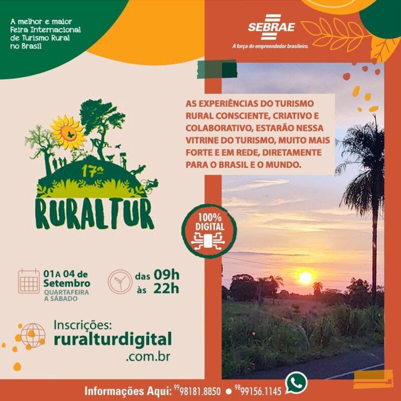 Mais de 250 lojas e 500 expositores participam da 17ª Ruraltur – Foto: Divulgação