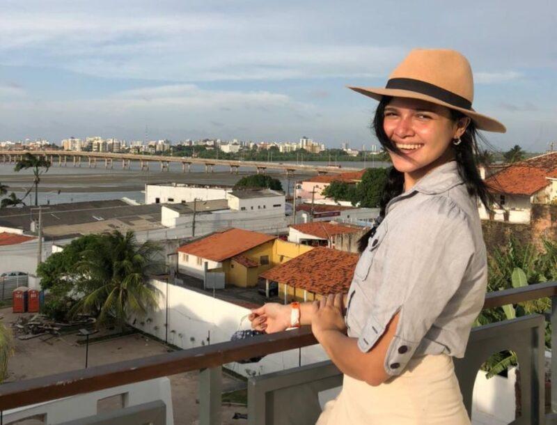 """Raphaela Barbosa, da Taguatur Turismo: """"estou muito animada e com boas expectativas de negócios e networking"""" - Foto: Divulgação"""