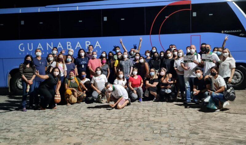 Caravana maranhense, organizada pelo Sebrae e Abav/MA – Foto: Divulgação