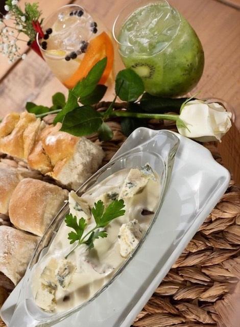 Mais entradas com o Filet ao Molho Roquefort – Foto: Clauton Farias