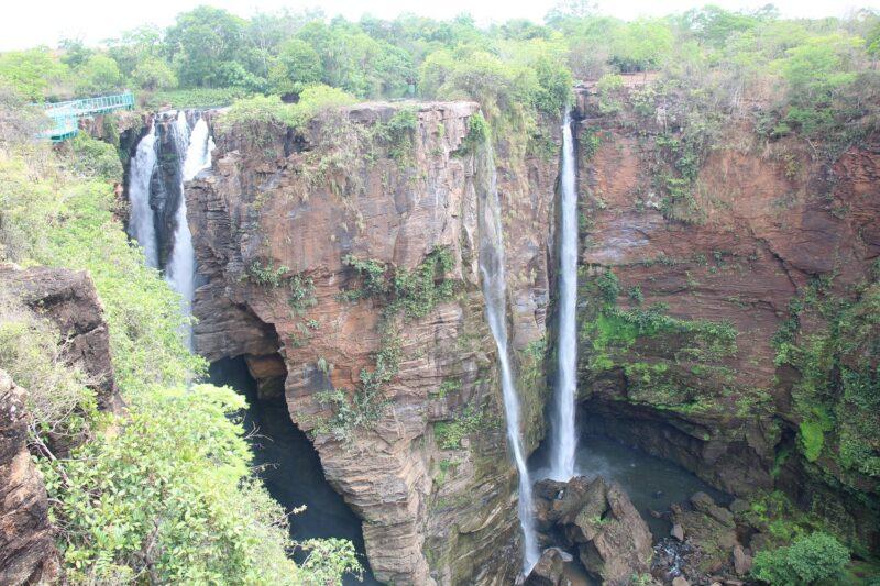 Vista da Cachoeira do Macapá – Foto: Franci Monteles