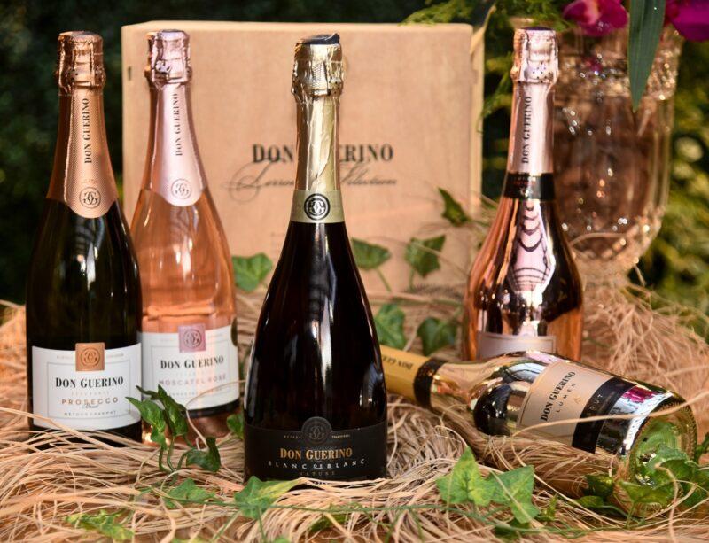 Vinhos e Espumantes da Don Guerrino, uma das preciosidades da casa – Foto: Divulgação