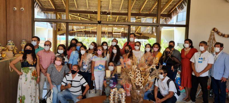 Missão maranhense na Abav 2021 conhece empreendimento do ramo da hotelaria de charme em Aquiraz, no litoral cearense – Foto: Divulgação